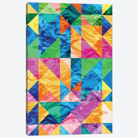 Pattern IX Canvas Print #TEM101} by Tenyo Marchev Canvas Wall Art