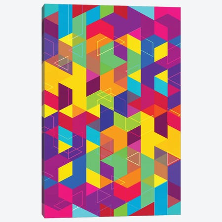 Pattern X Canvas Print #TEM102} by Tenyo Marchev Canvas Art