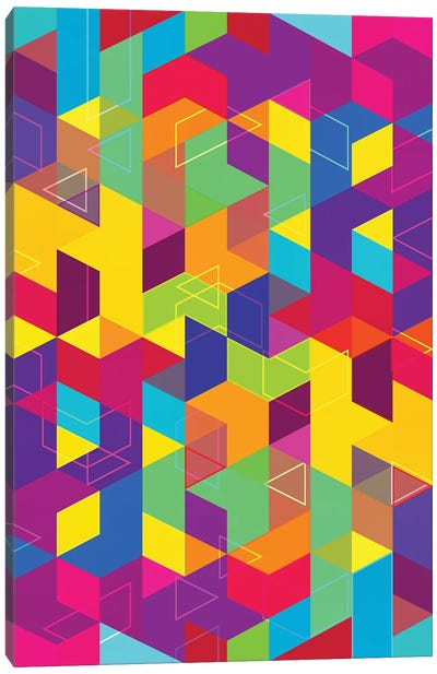 Pattern X Canvas Art Print