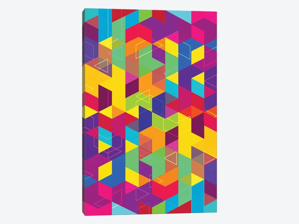 Pattern X by Tenyo Marchev 1-piece Canvas Print