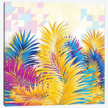 Tropical X Canvas Print #TEM119} by Tenyo Marchev Canvas Print