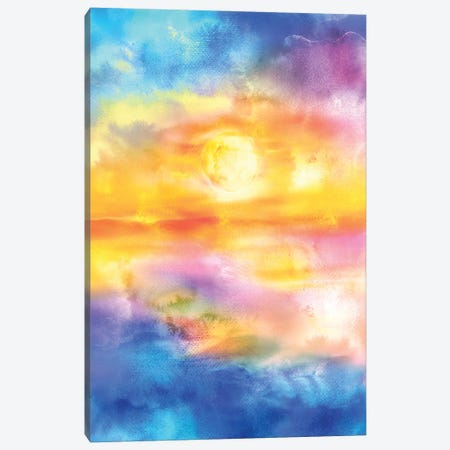 Abstract Sunset Artwork II Canvas Print #TEM11} by Tenyo Marchev Art Print
