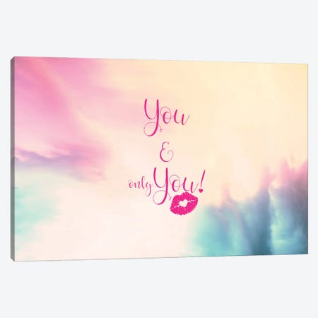 You , Only You - Horizontal Canvas Print #TEM123} by Tenyo Marchev Canvas Wall Art