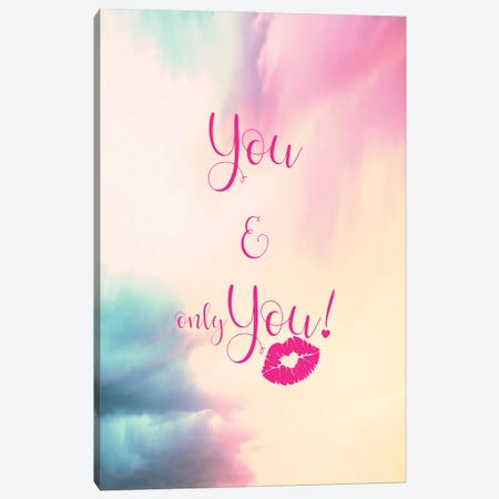 You , Only You - Vertical Canvas Print #TEM124} by Tenyo Marchev Art Print