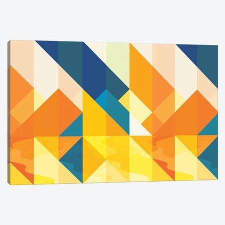 Geometric LI Canvas Print #TEM125} by Tenyo Marchev Art Print