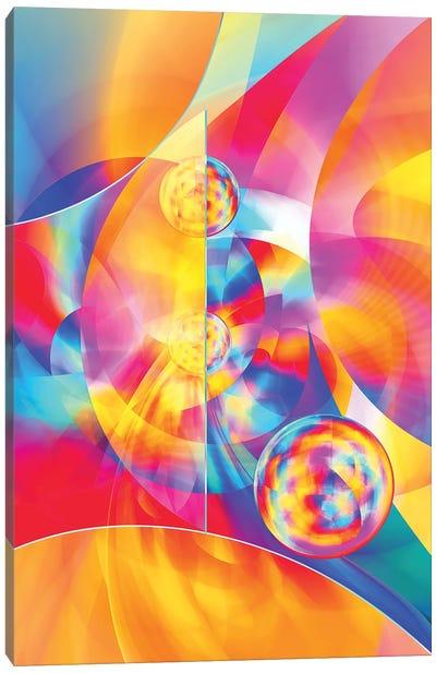 4Th Dimension - Abstract Art Xvii Canvas Art Print