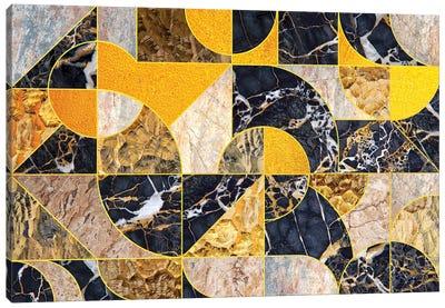 Geometric Marble I - Horizontal Canvas Art Print