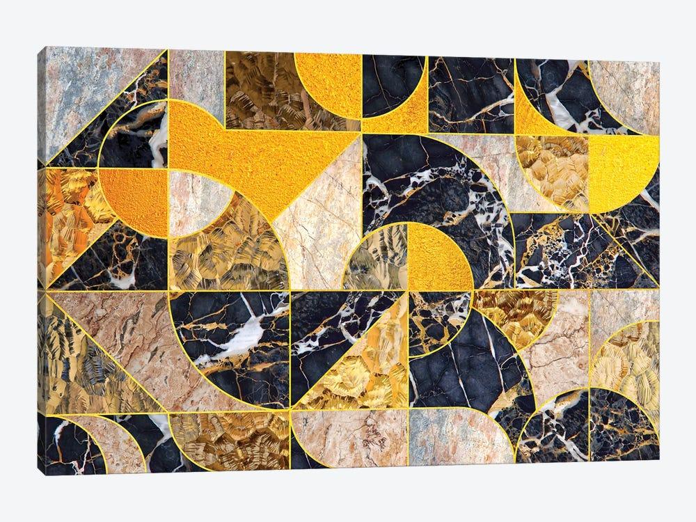 Geometric Marble I - Horizontal by Tenyo Marchev 1-piece Canvas Art