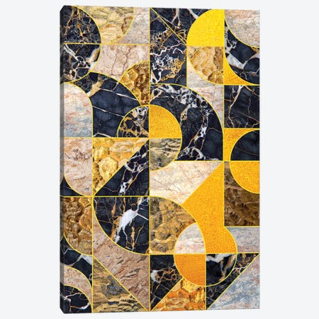 Geometric Marble I - Vertical Canvas Print #TEM128} by Tenyo Marchev Canvas Artwork