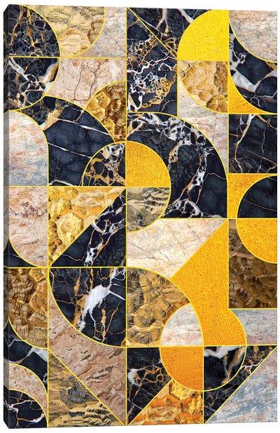 Geometric Marble I - Vertical Canvas Art Print