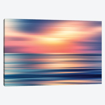 Abstract Sunset II Canvas Print #TEM13} by Tenyo Marchev Canvas Art Print