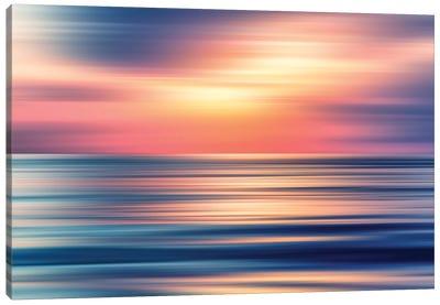 Abstract Sunset II Canvas Art Print