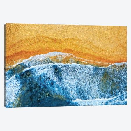 Golden Beach I Canvas Print #TEM158} by Tenyo Marchev Art Print