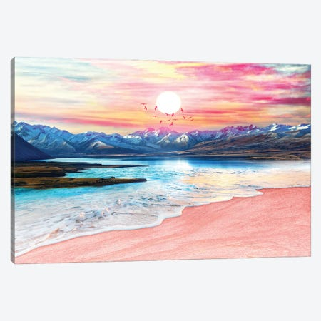 Surreal Sunset Canvas Print #TEM159} by Tenyo Marchev Canvas Print