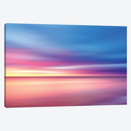 Abstract Sunset V Canvas Print #TEM15} by Tenyo Marchev Canvas Artwork