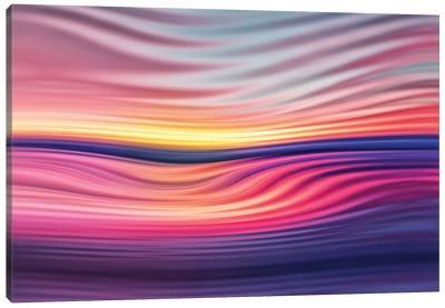 Abstract Sunset VI Canvas Art Print