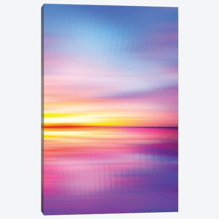 Abstract Sunset VII Canvas Print #TEM17} by Tenyo Marchev Canvas Artwork