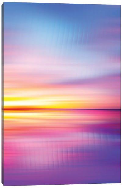 Abstract Sunset VII Canvas Art Print
