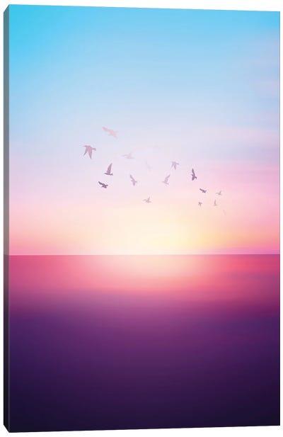 Abstract Sunset VIII Canvas Art Print