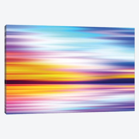 Abstract Sunset X Canvas Print #TEM19} by Tenyo Marchev Art Print
