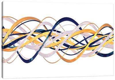3D Helix Canvas Art Print