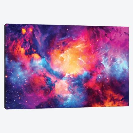 Artistic XI - Colorful Nebula Canvas Print #TEM24} by Tenyo Marchev Canvas Print