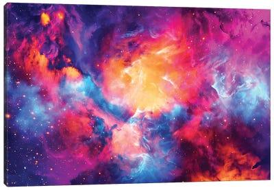 Artistic XI - Colorful Nebula Canvas Art Print