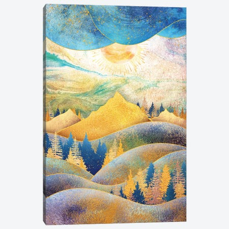 Beauty of Nature - Illustration III 3-Piece Canvas #TEM28} by Tenyo Marchev Canvas Art