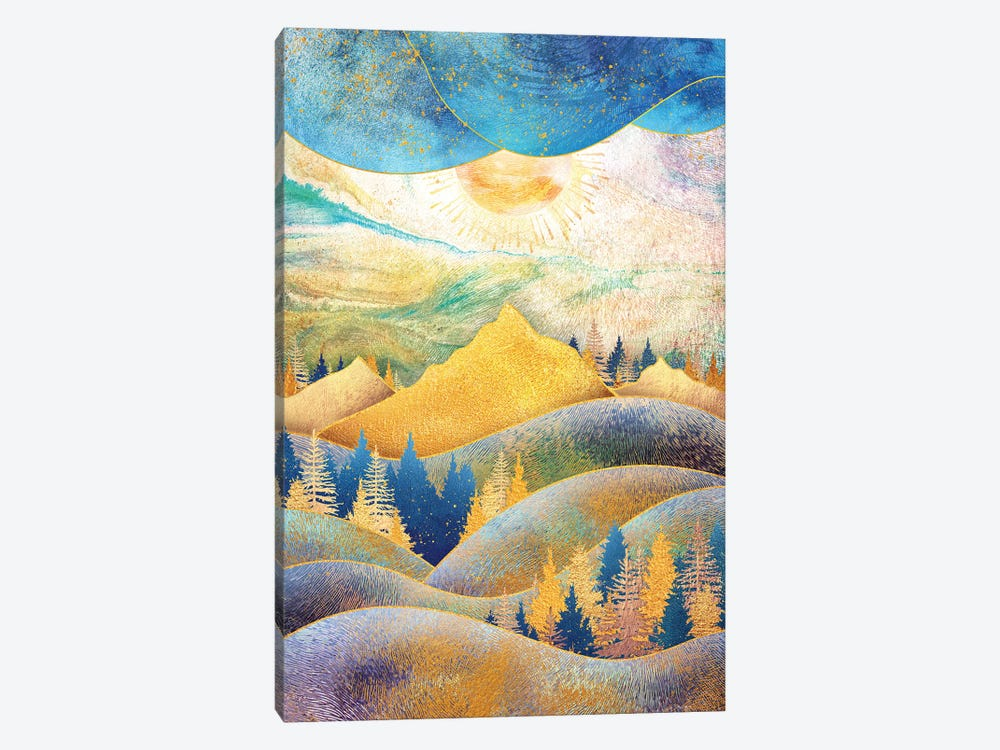 Beauty of Nature - Illustration III by Tenyo Marchev 1-piece Art Print