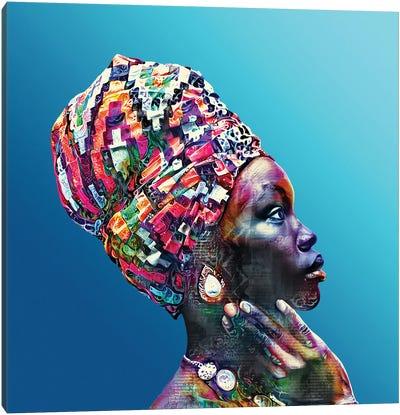 Color Through Culture VIII Canvas Art Print