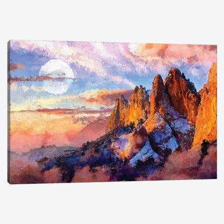 Digital Art VI - Colorado Sunset Canvas Print #TEM46} by Tenyo Marchev Art Print