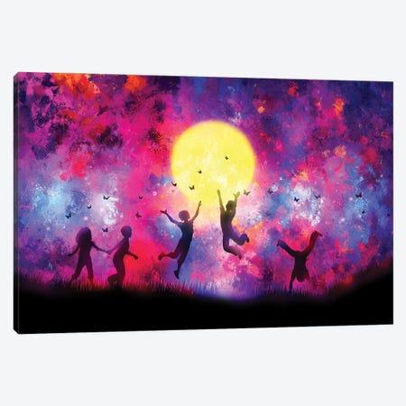 Dreamy Night Canvas Print #TEM49} by Tenyo Marchev Canvas Art