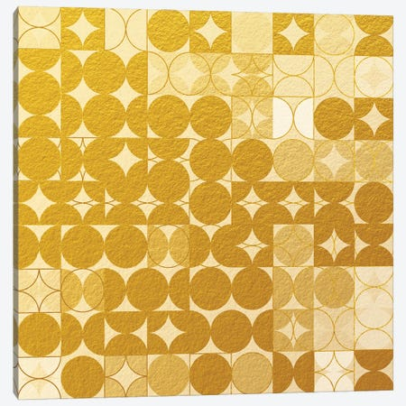 Geometric XIX v2 Canvas Print #TEM57} by Tenyo Marchev Canvas Artwork