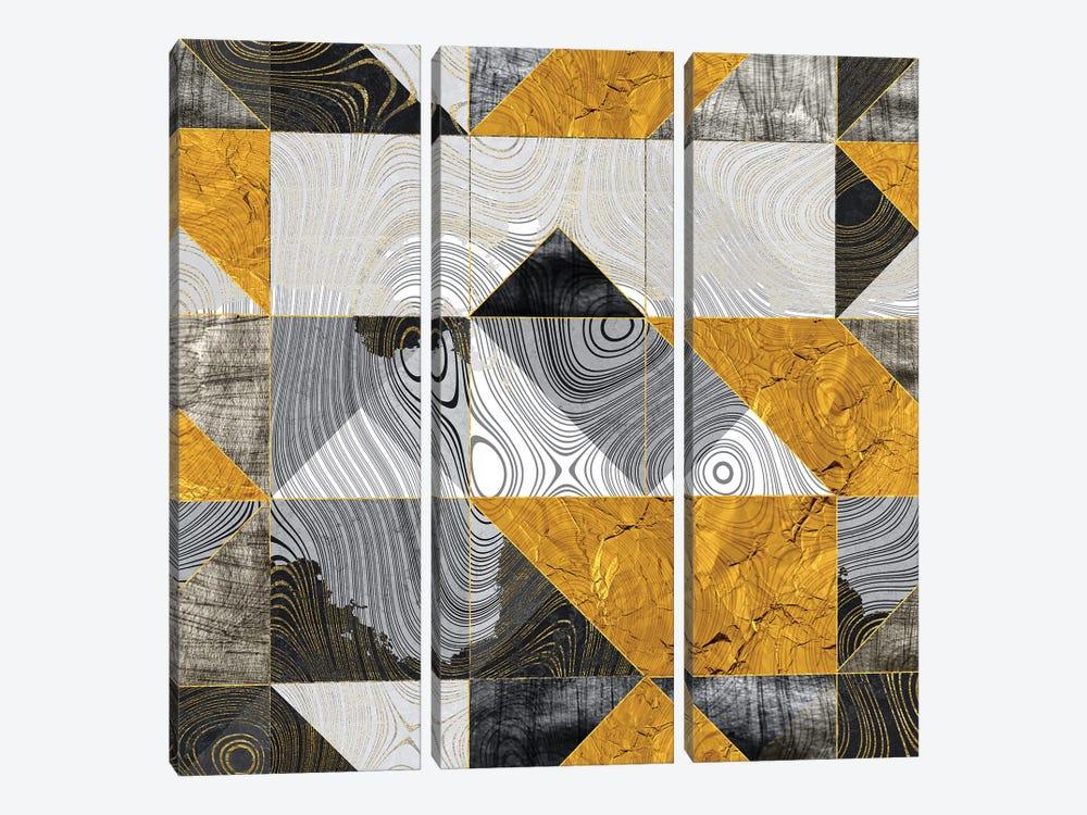 Geometric XXIII by Tenyo Marchev 3-piece Canvas Art