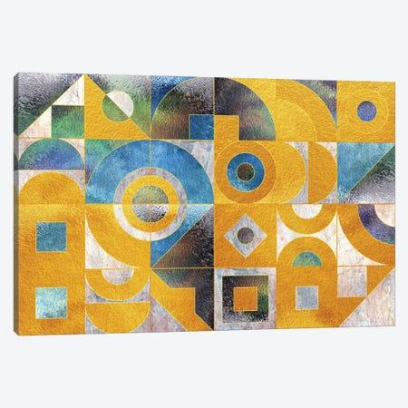 Geometric XXXIX Canvas Print #TEM67} by Tenyo Marchev Art Print