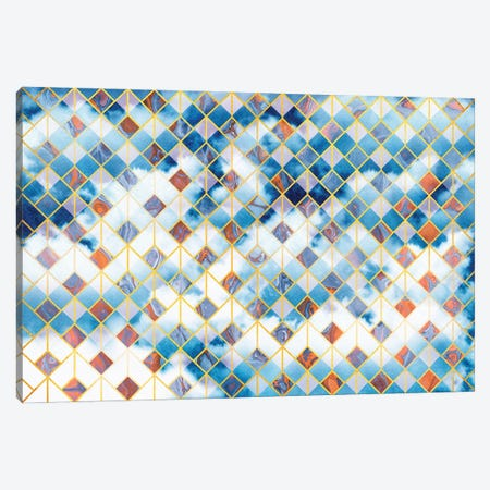 Geometric XXXVII Canvas Print #TEM70} by Tenyo Marchev Art Print