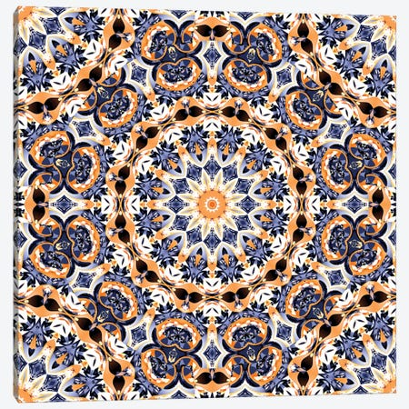 Abstract Mandala Canvas Print #TEM7} by Tenyo Marchev Canvas Wall Art