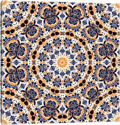 Abstract Mandala Canvas Art Print