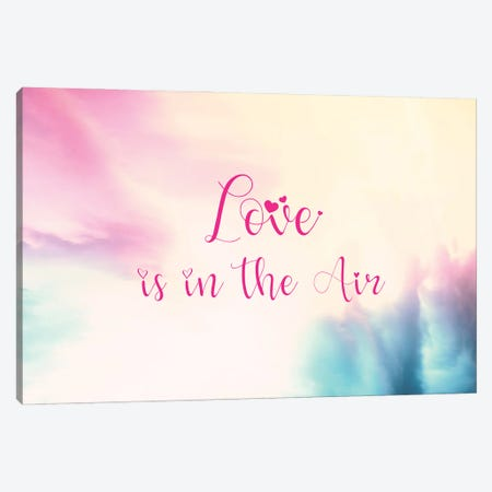 Love is in the Air - Horizontal Canvas Print #TEM82} by Tenyo Marchev Canvas Art