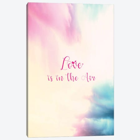 Love is in the Air - Vertical Canvas Print #TEM83} by Tenyo Marchev Canvas Wall Art