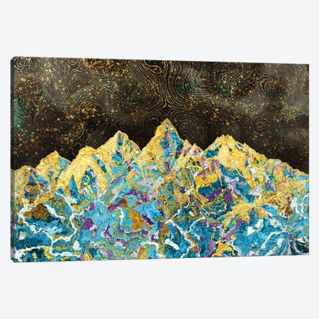 Marble Mountain - Illustration I Canvas Print #TEM85} by Tenyo Marchev Canvas Art Print