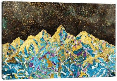 Marble Mountain - Illustration I Canvas Art Print