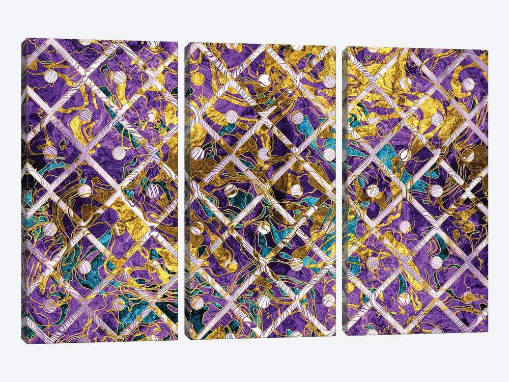 Marble Pattern by Tenyo Marchev 3-piece Art Print