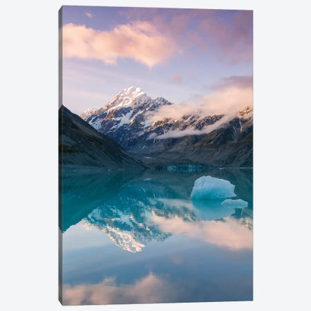 Mt Cook Reflections, New Zealand Canvas Print #TEO1007} by Matteo Colombo Canvas Art