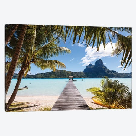 Vacations In Polynesia Canvas Print #TEO1016} by Matteo Colombo Canvas Print