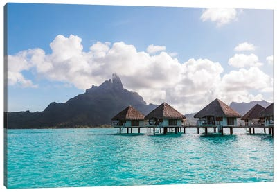The Blue Lagoon, Bora Bora Canvas Art Print
