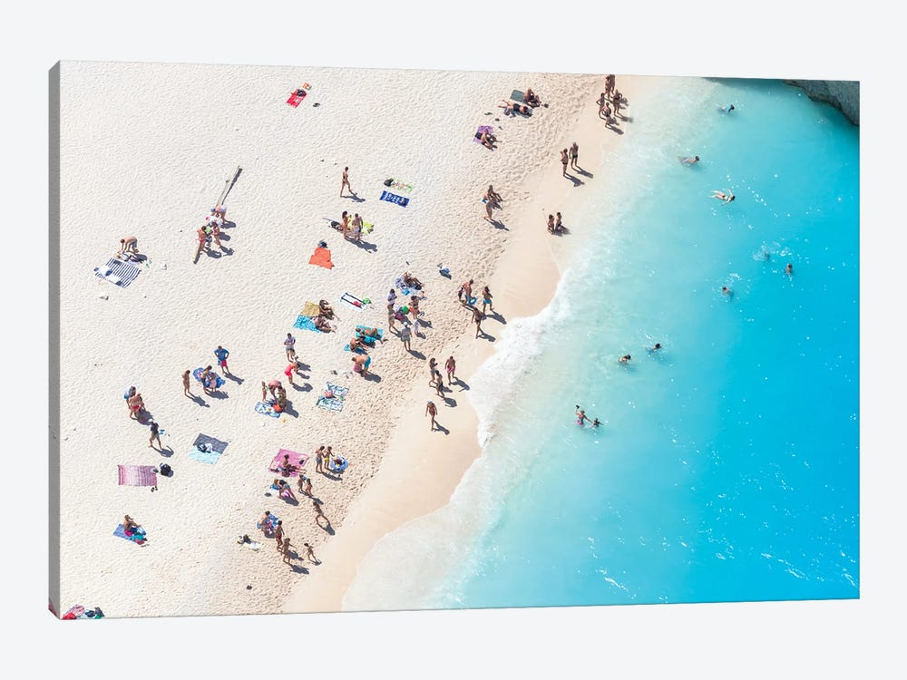 Relax At The Beach II by Matteo Colombo 1-piece Canvas Wall Art