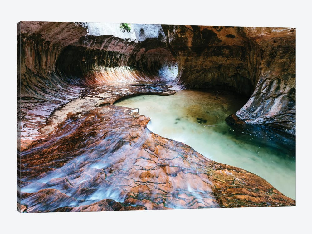 The Subway, Zion National Park, Utah, USA by Matteo Colombo 1-piece Canvas Artwork