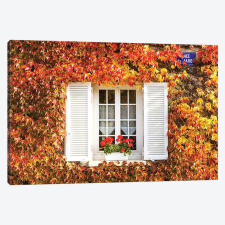 Window In Autumn I Canvas Print #TEO1043} by Matteo Colombo Canvas Print