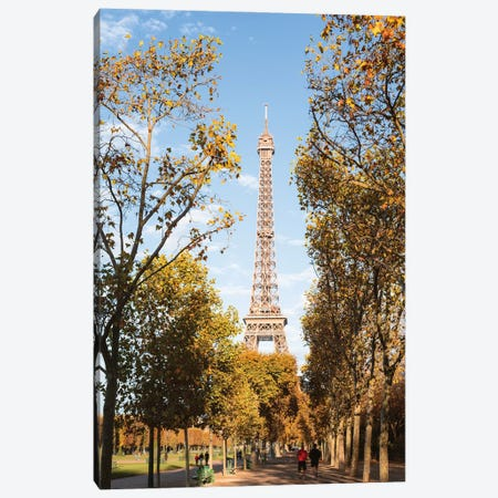Autumn In Paris II Canvas Print #TEO1051} by Matteo Colombo Canvas Art